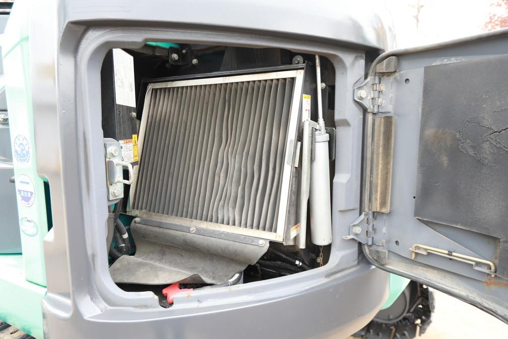 2012年製 コベルコ SK75UR-5 超低騒音型 0.25m3 7トン油圧ショベル 移動式クレーン仕様 マルチレバー付 キャビン エアコン_画像8