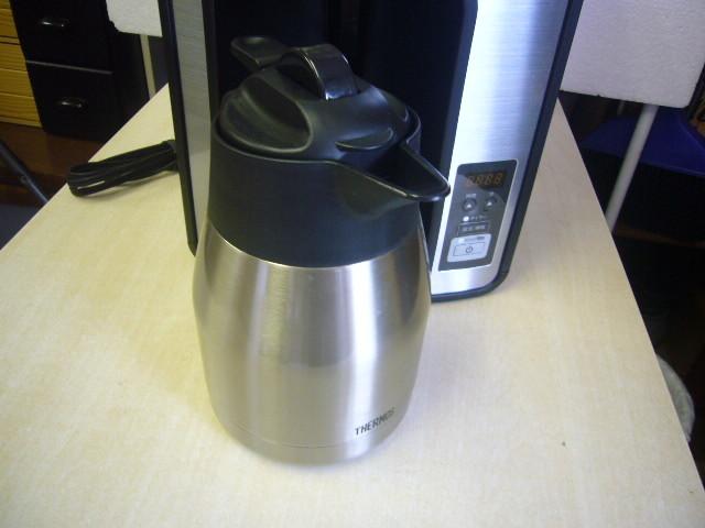 THERMOS サーモス 真空断熱ポット コーヒーメーカー ECH-1000 中古_画像6