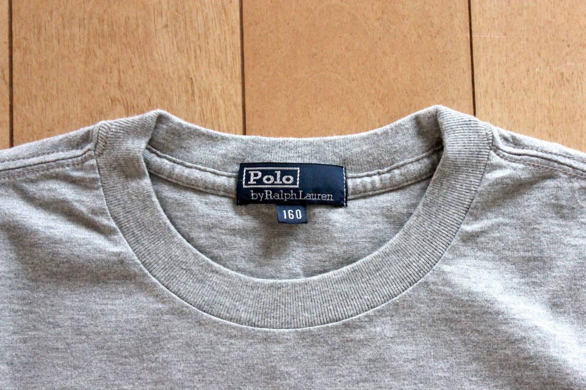 ★☆ 【未使用】ラルフローレン ポケットTシャツ ボーイズ160サイズ★☆ _画像3