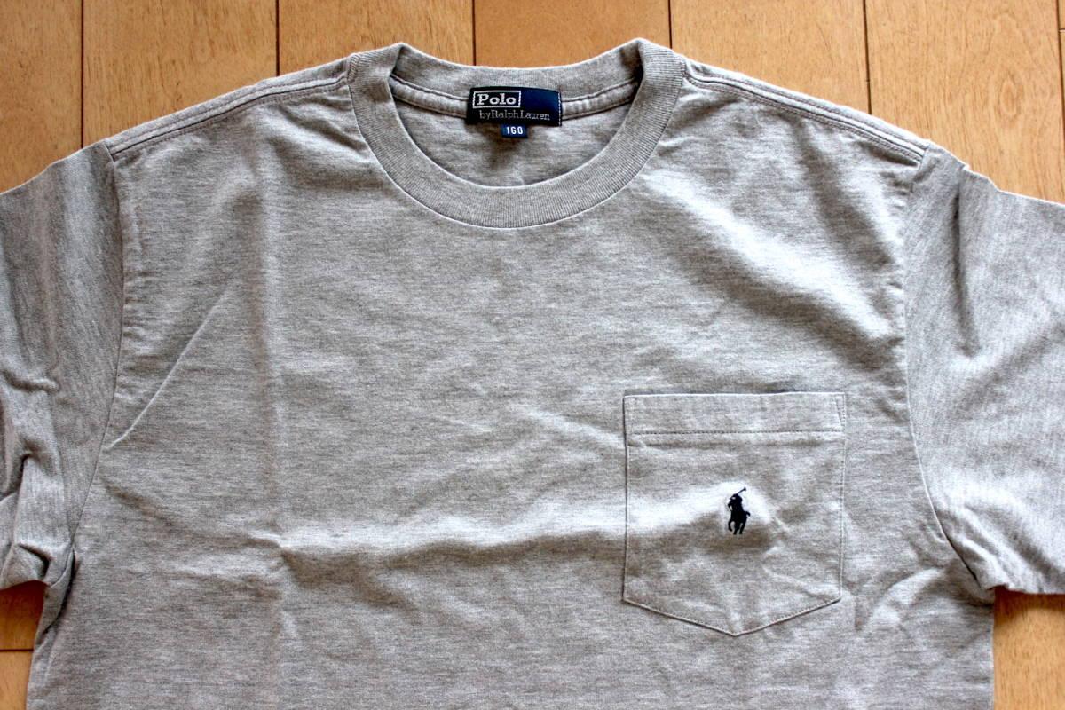 ★☆ 【未使用】ラルフローレン ポケットTシャツ ボーイズ160サイズ★☆ _画像4