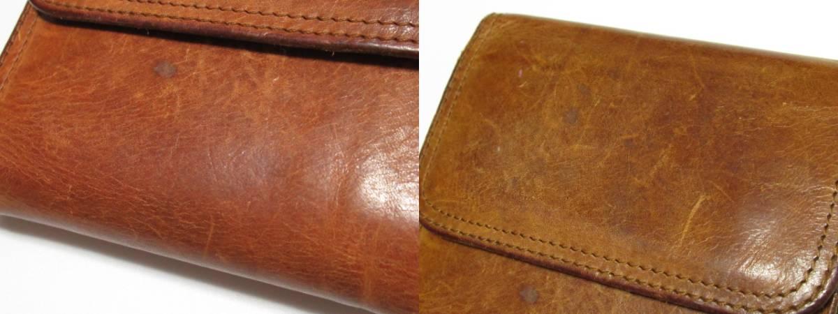 ★ CORBO コルボ 本革 レザー 三つ折り 財布 ウォレット ★ レタパOK_画像2