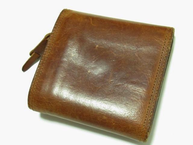 ★ CORBO コルボ 本革 レザー 三つ折り 財布 ウォレット ★ レタパOK_画像3