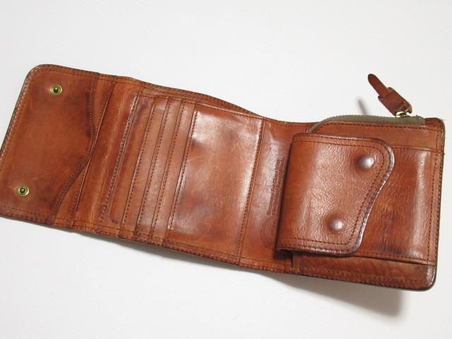 ★ CORBO コルボ 本革 レザー 三つ折り 財布 ウォレット ★ レタパOK_画像6
