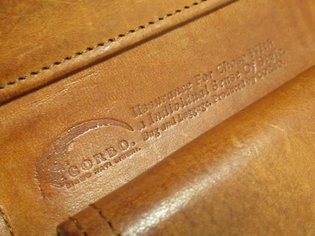 ★ CORBO コルボ 本革 レザー 三つ折り 財布 ウォレット ★ レタパOK_画像8