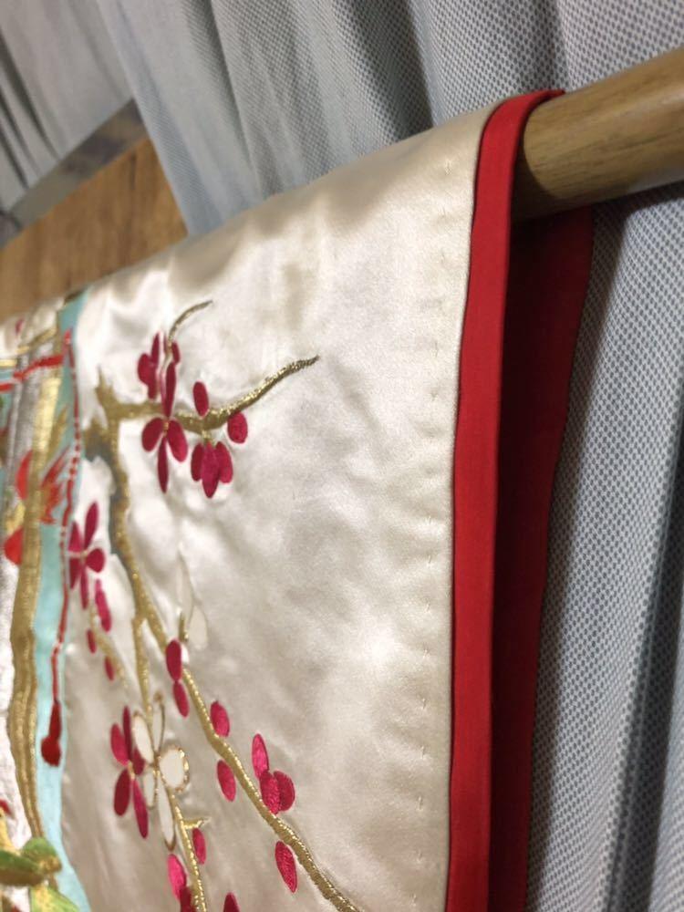 【花嫁用打掛】結婚式/お色直し/和装/振袖/花嫁/白銀十二単/色打掛_画像7