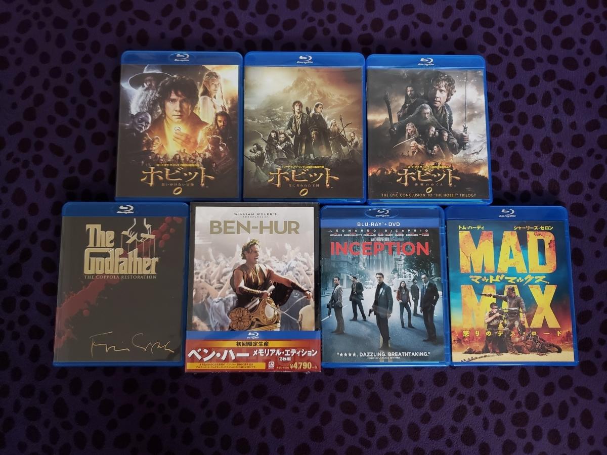 新品未開封あり 美品 洋画 Blu-ray 7セット