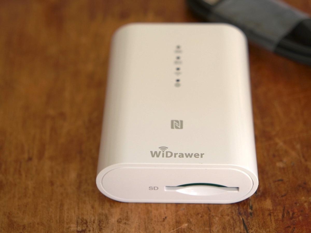 新品未使用 RATOC Systems WiDrawer REX-SD2D Wi-Fi SDカードリーダー
