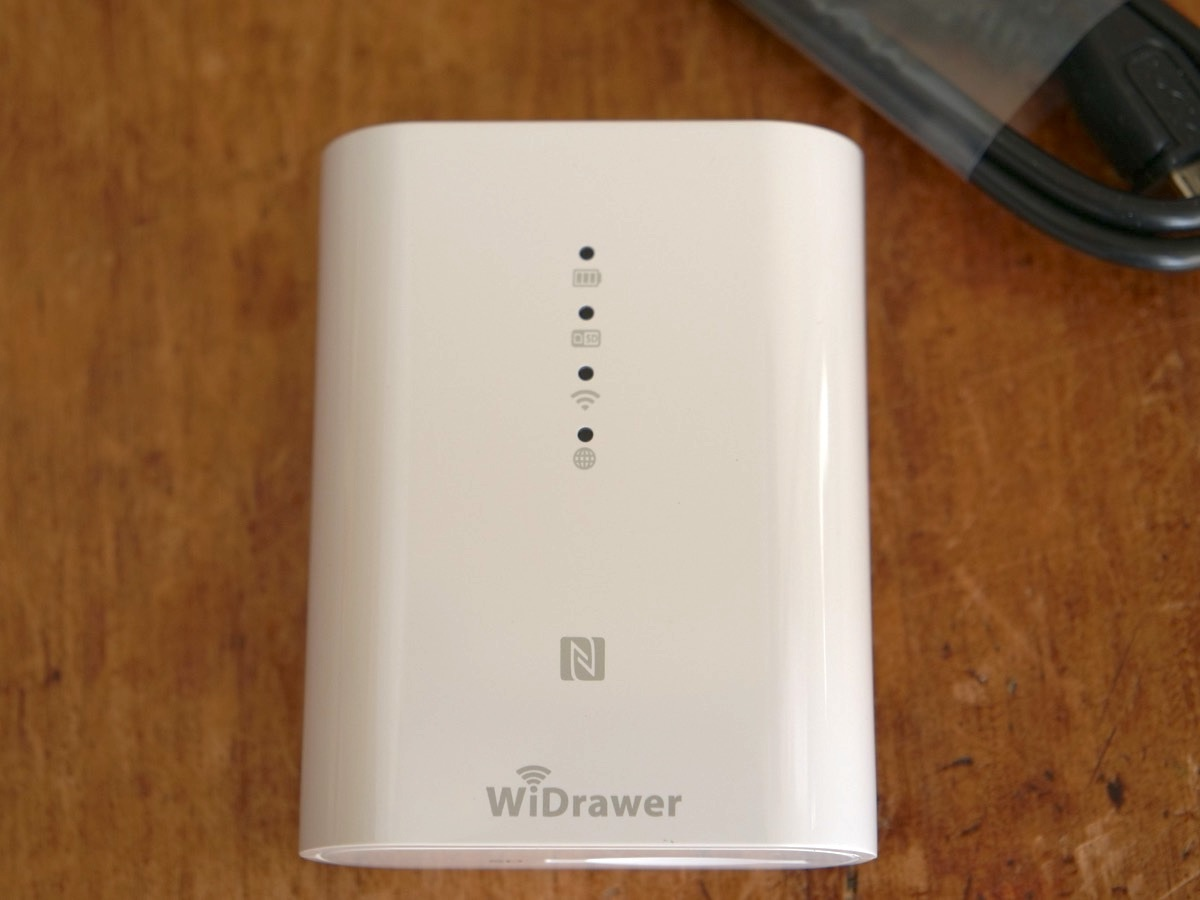 新品未使用 RATOC Systems WiDrawer REX-SD2D Wi-Fi SDカードリーダー_画像5