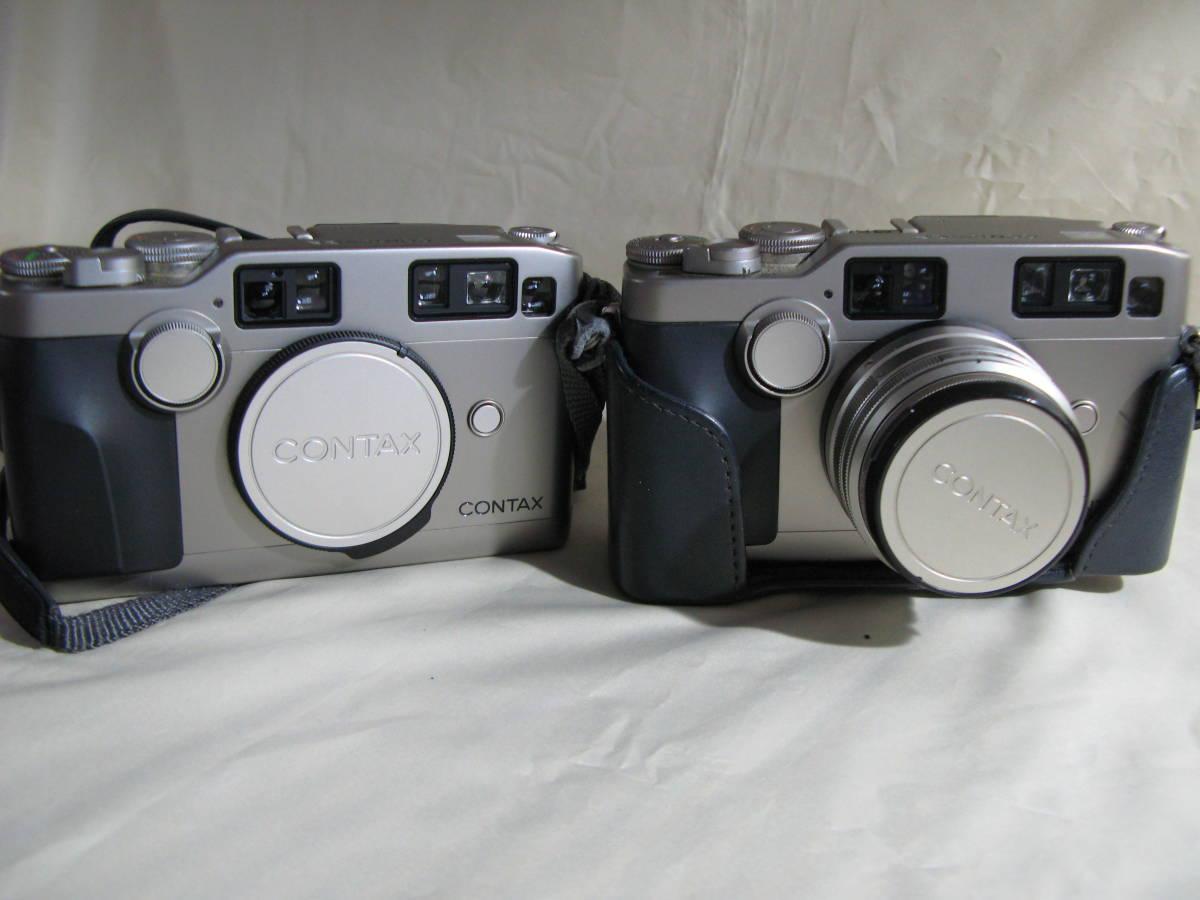 Contax G2DとG2、3レンズ、フラッシュ、ケース及びバッグ