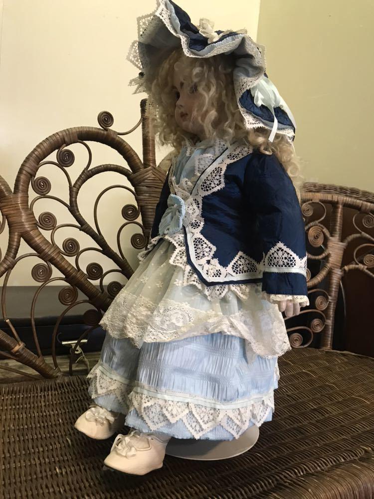 トムリンソン ジュモー レプリカドール 1997年製 人形 ゴスロリ服 送料無料 売り切り_画像6