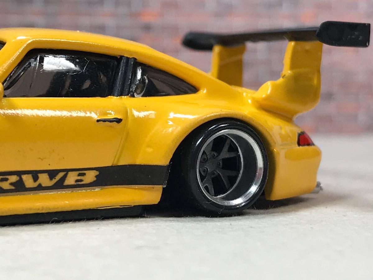 ★ ホットウィール RWB ポルシェ 911 GT2 カスタム 深リム_画像10