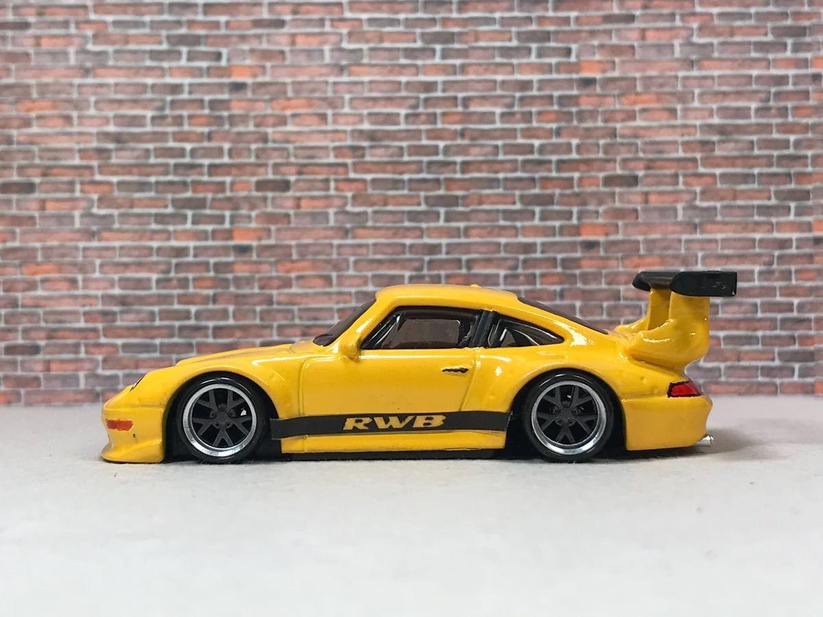 ★ ホットウィール RWB ポルシェ 911 GT2 カスタム 深リム_画像7