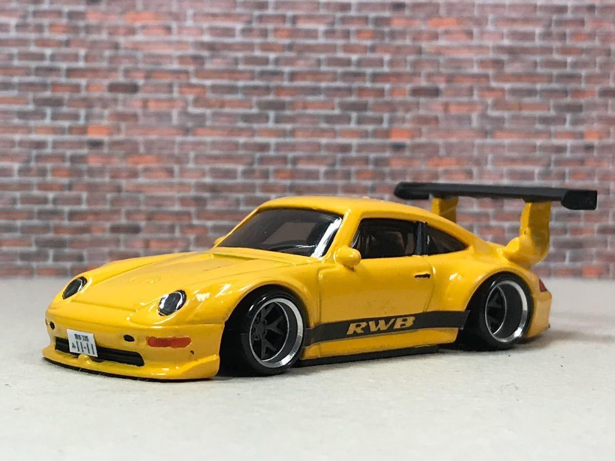 ★ ホットウィール RWB ポルシェ 911 GT2 カスタム 深リム_画像9
