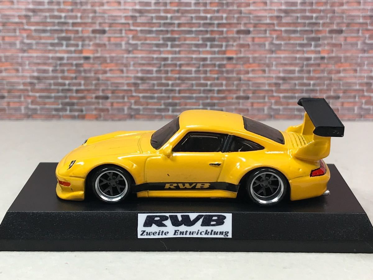 ★ ホットウィール RWB ポルシェ 911 GT2 カスタム 深リム_画像2