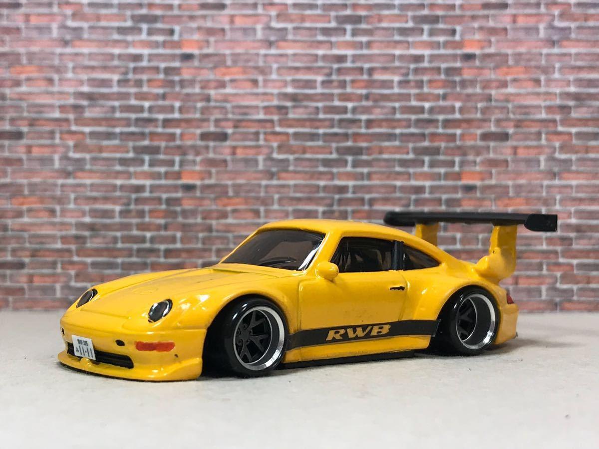 ★ ホットウィール RWB ポルシェ 911 GT2 カスタム 深リム_画像8