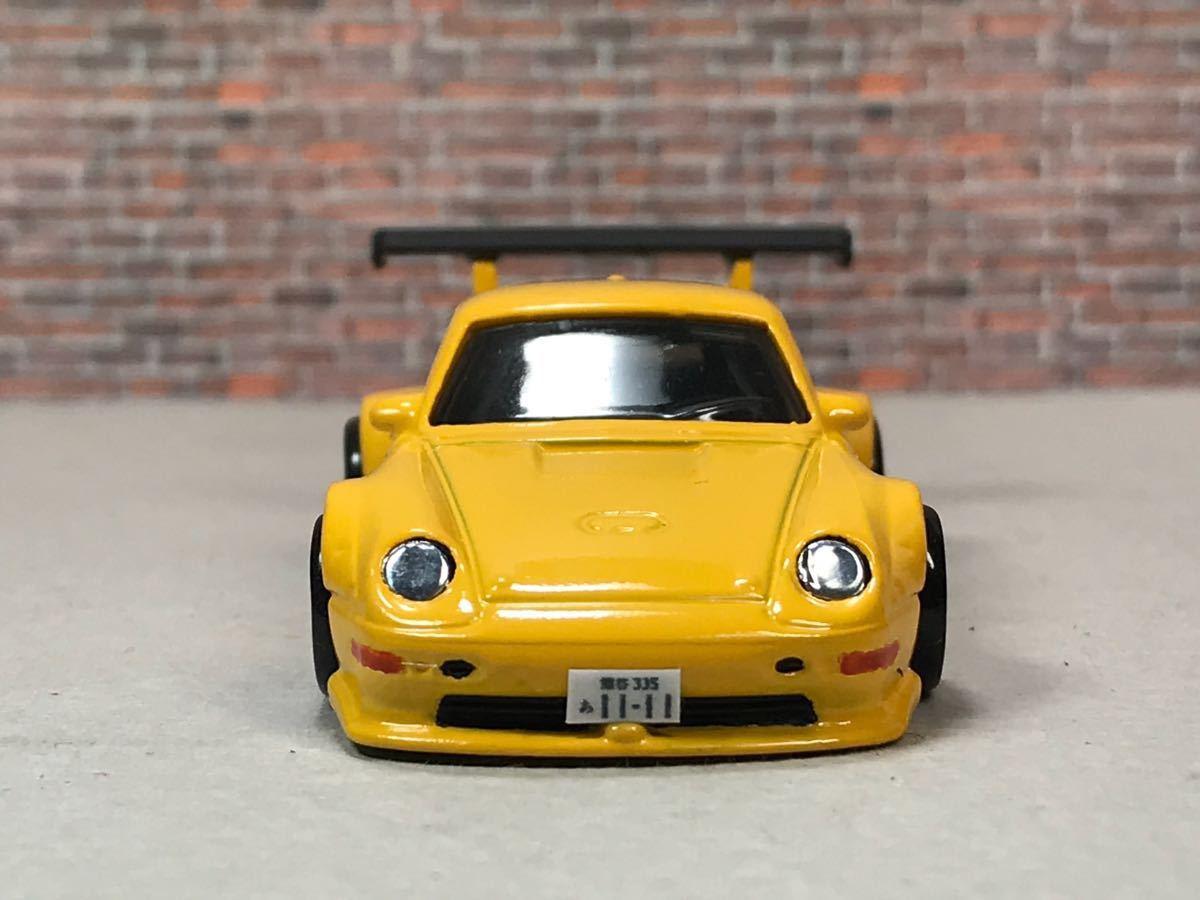 ★ ホットウィール RWB ポルシェ 911 GT2 カスタム 深リム_画像3