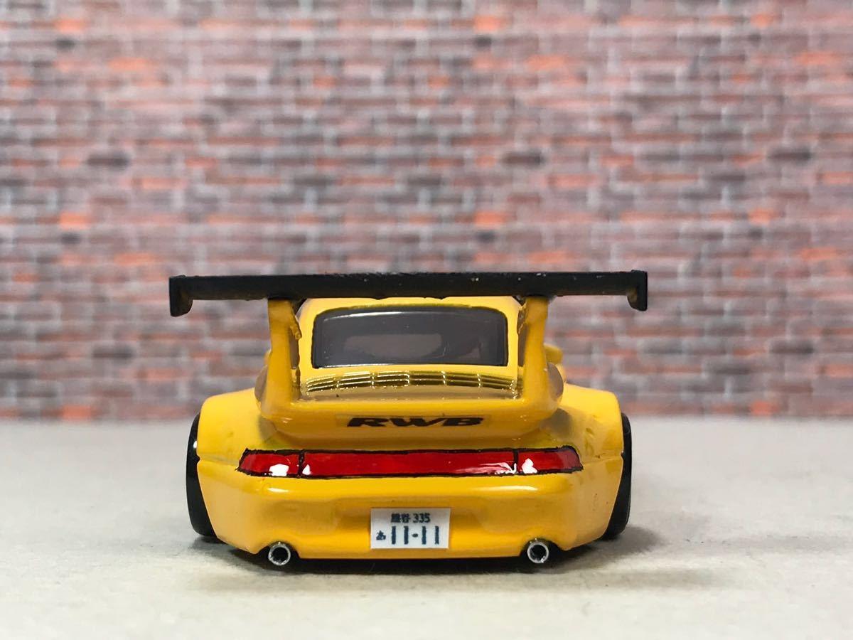 ★ ホットウィール RWB ポルシェ 911 GT2 カスタム 深リム_画像4