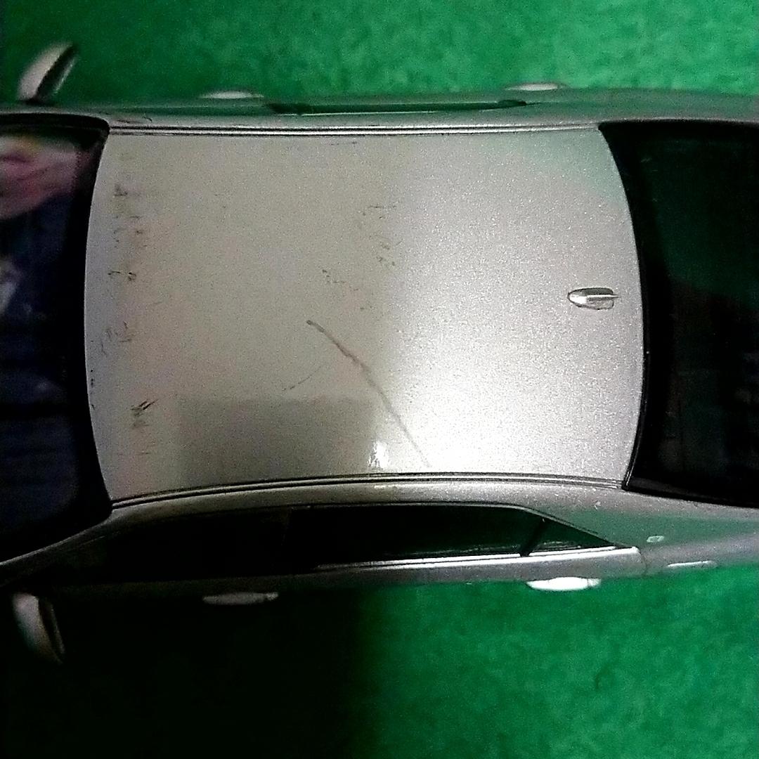 トヨタ クラウンロイヤルサルーン 非売品 カラーサンプル プレシャスシルバー_画像5