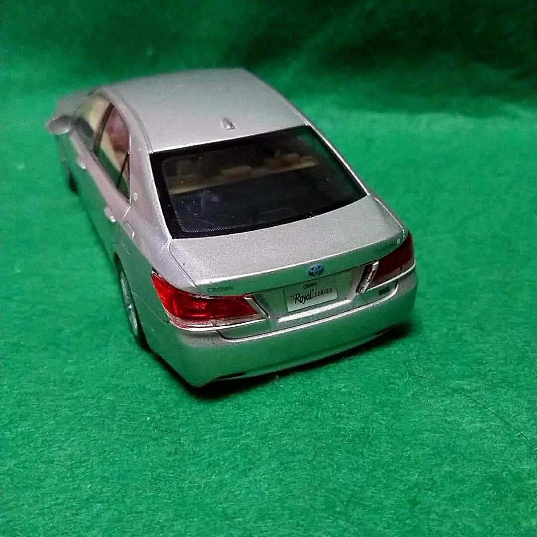 トヨタ クラウンロイヤルサルーン 非売品 カラーサンプル プレシャスシルバー_画像3
