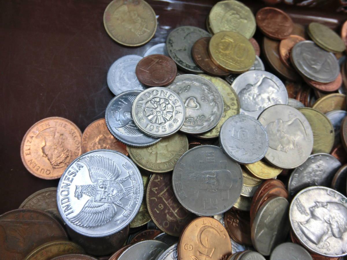 ♪1円~外国銭・外国古銭おまとめ 大量いろいろ 2000g超_画像2