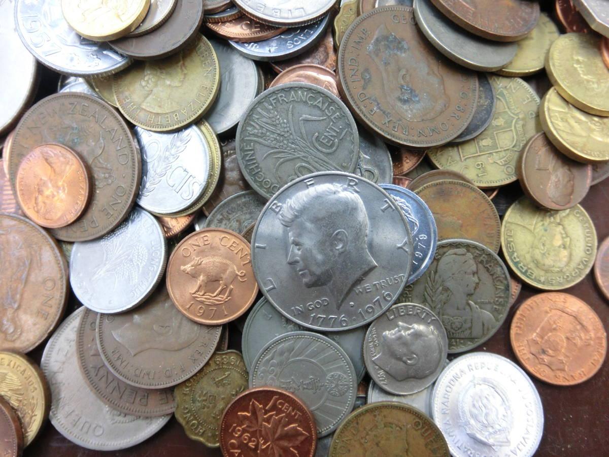 ♪1円~外国銭・外国古銭おまとめ 大量いろいろ 2000g超_画像4
