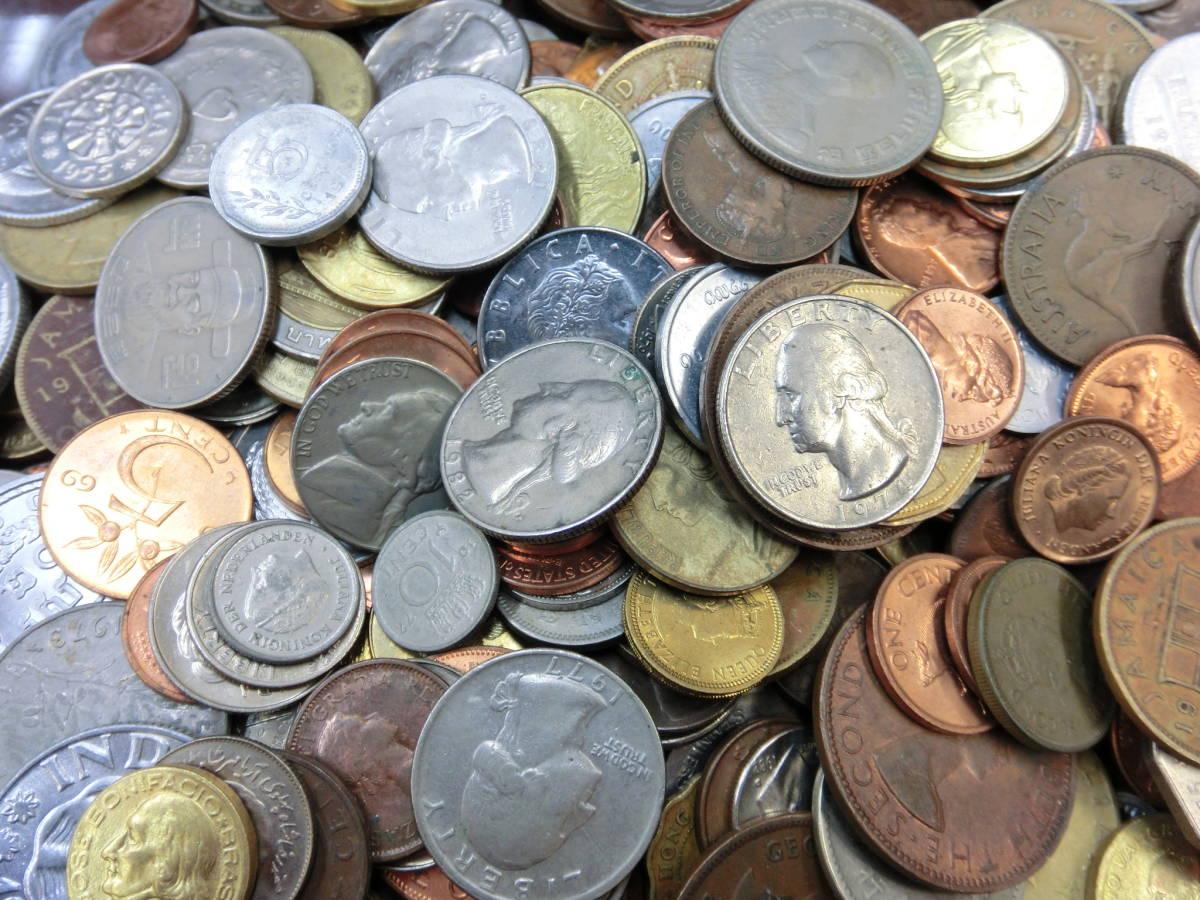 ♪1円~外国銭・外国古銭おまとめ 大量いろいろ 2000g超_画像5