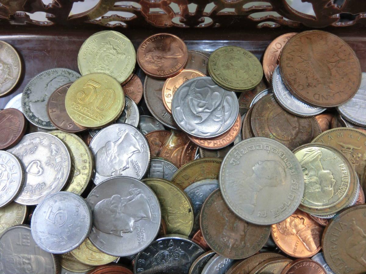 ♪1円~外国銭・外国古銭おまとめ 大量いろいろ 2000g超_画像6