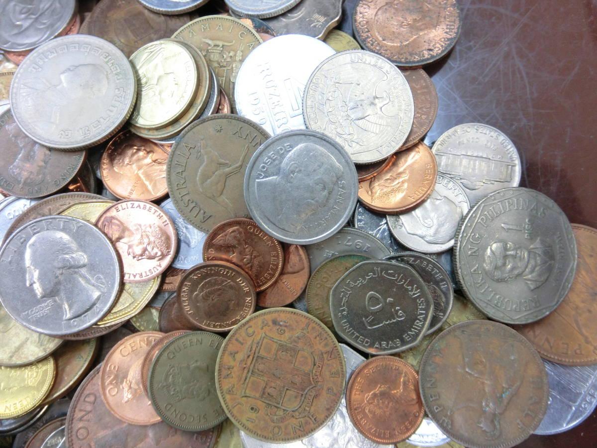 ♪1円~外国銭・外国古銭おまとめ 大量いろいろ 2000g超_画像7