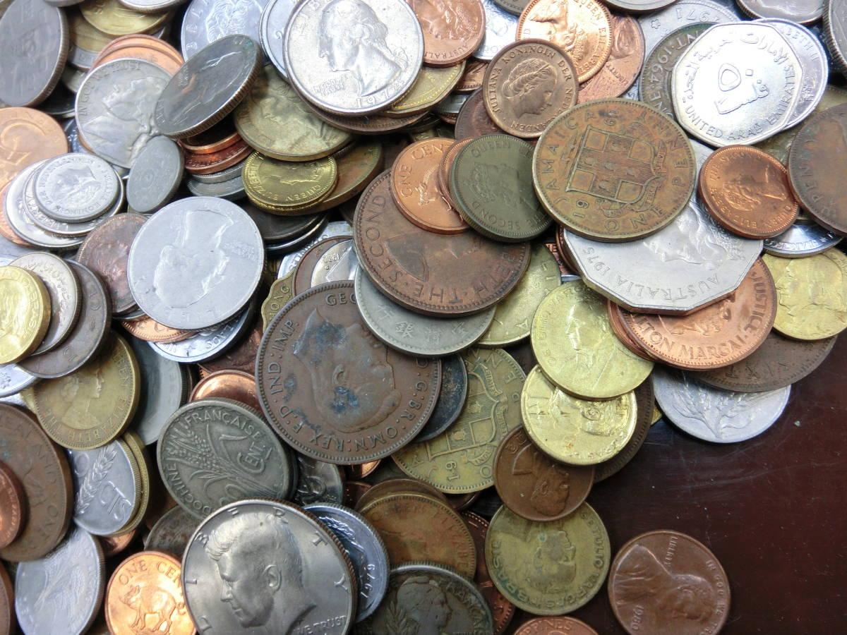 ♪1円~外国銭・外国古銭おまとめ 大量いろいろ 2000g超_画像8
