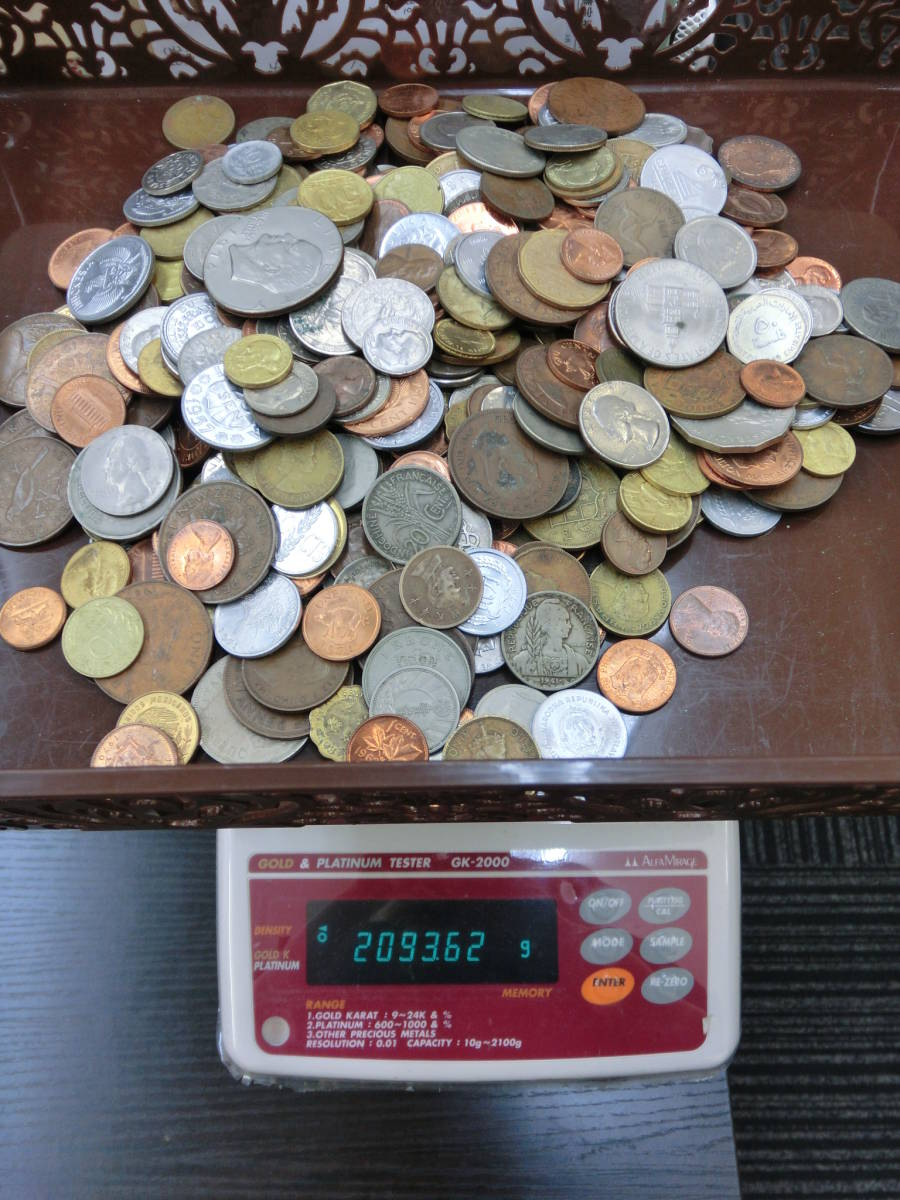 ♪1円~外国銭・外国古銭おまとめ 大量いろいろ 2000g超_画像9