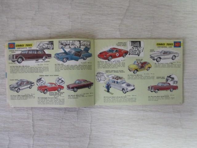 コーギー ミニカー カタログ 39ページ 1966年度版 経年劣化による傷みあります。 _画像4