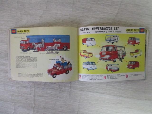 コーギー ミニカー カタログ 39ページ 1966年度版 経年劣化による傷みあります。 _画像7