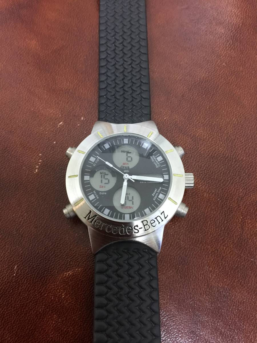 メルセデス ベンツ Mercedes Benz 腕時計 オリジナル 非売品 電池交換済み