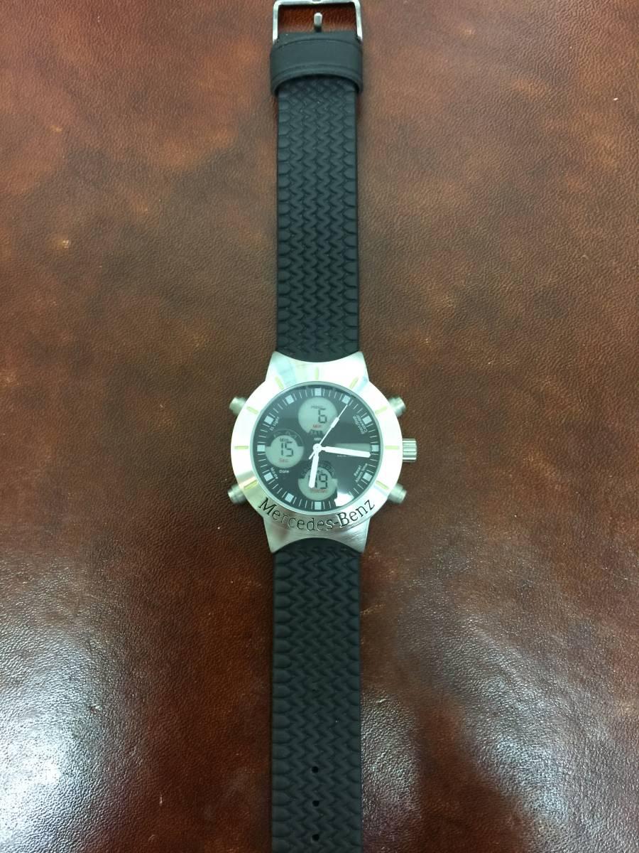 メルセデス ベンツ Mercedes Benz 腕時計 オリジナル 非売品 電池交換済み_画像2