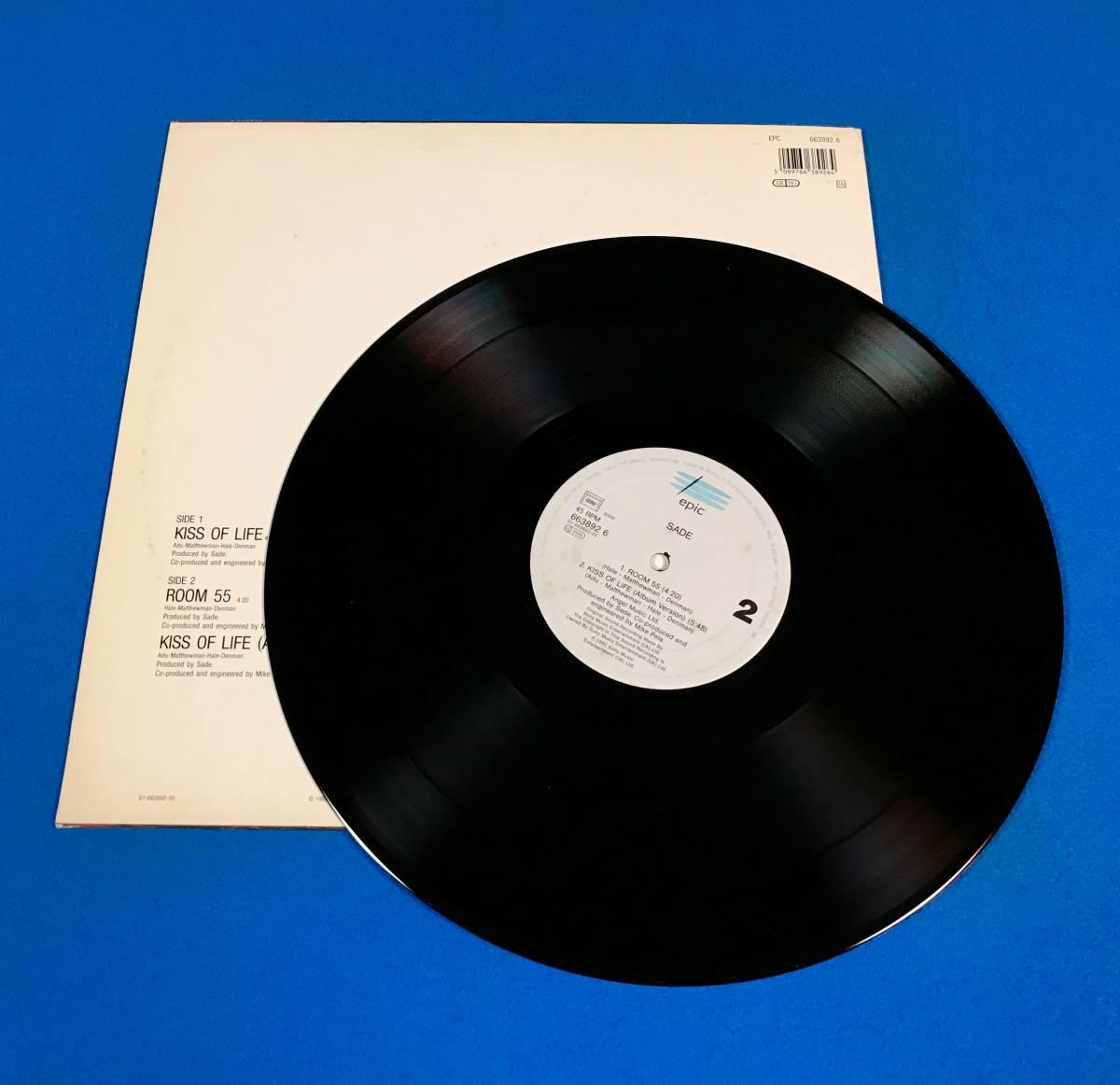 【R&B】【SOUL】SADE//KISS OF LIFE//6638926//12INCH VINYL/UK/LOFT_画像5