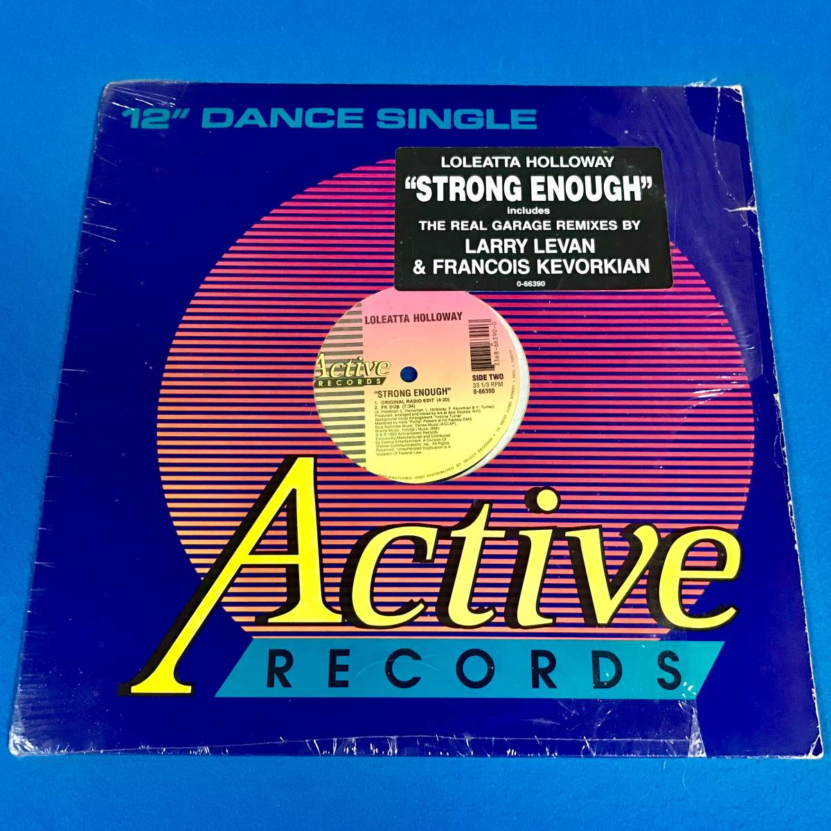 【HOUSE】LOLEATTA HOLLOWAY//STRONG ENOUGH//0-66390//12INCH VINYL/US/FRANCOIS KEVORKIAN/LARRY LEVAN/LOFT/GARAGE_画像1