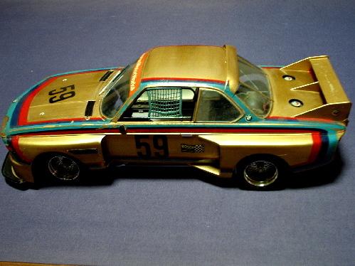 旧い・オオタキ R/C 用 1/12・ BMW 3.5CSL・ ジャンク扱いで 。