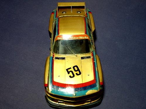 旧い・オオタキ R/C 用 1/12・ BMW 3.5CSL・ ジャンク扱いで 。_画像2