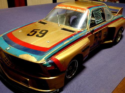 旧い・オオタキ R/C 用 1/12・ BMW 3.5CSL・ ジャンク扱いで 。_画像3