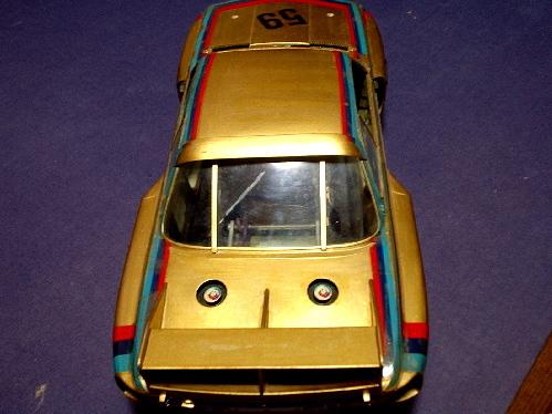 旧い・オオタキ R/C 用 1/12・ BMW 3.5CSL・ ジャンク扱いで 。_画像4