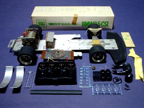 旧い・オオタキ R/C 用 1/12・ BMW 3.5CSL・ ジャンク扱いで 。_画像5