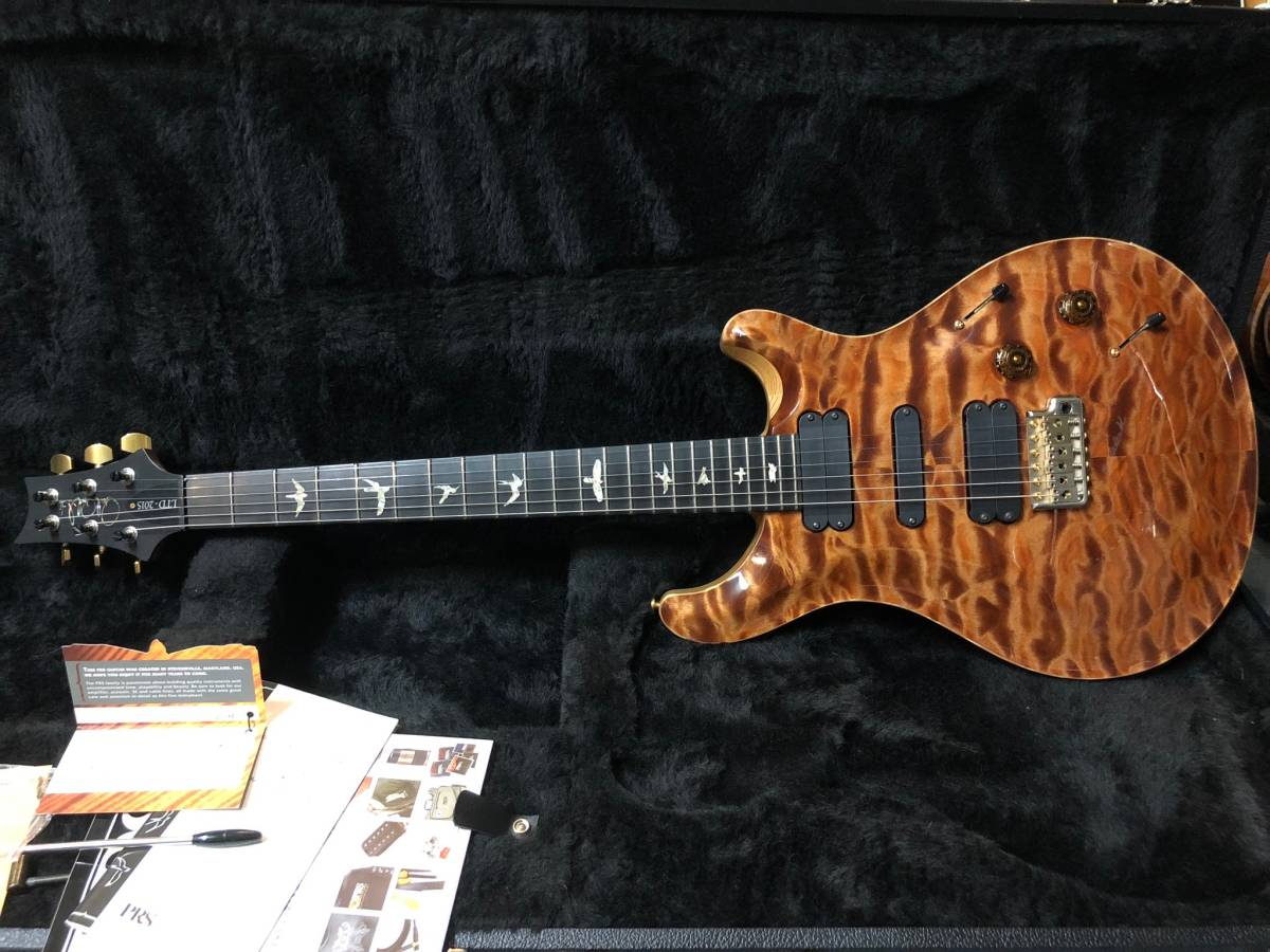 Paul Reed Smith (PRS) Wood Library Japan Limited 513 PS Grade Ebony Fingerboard copperhead