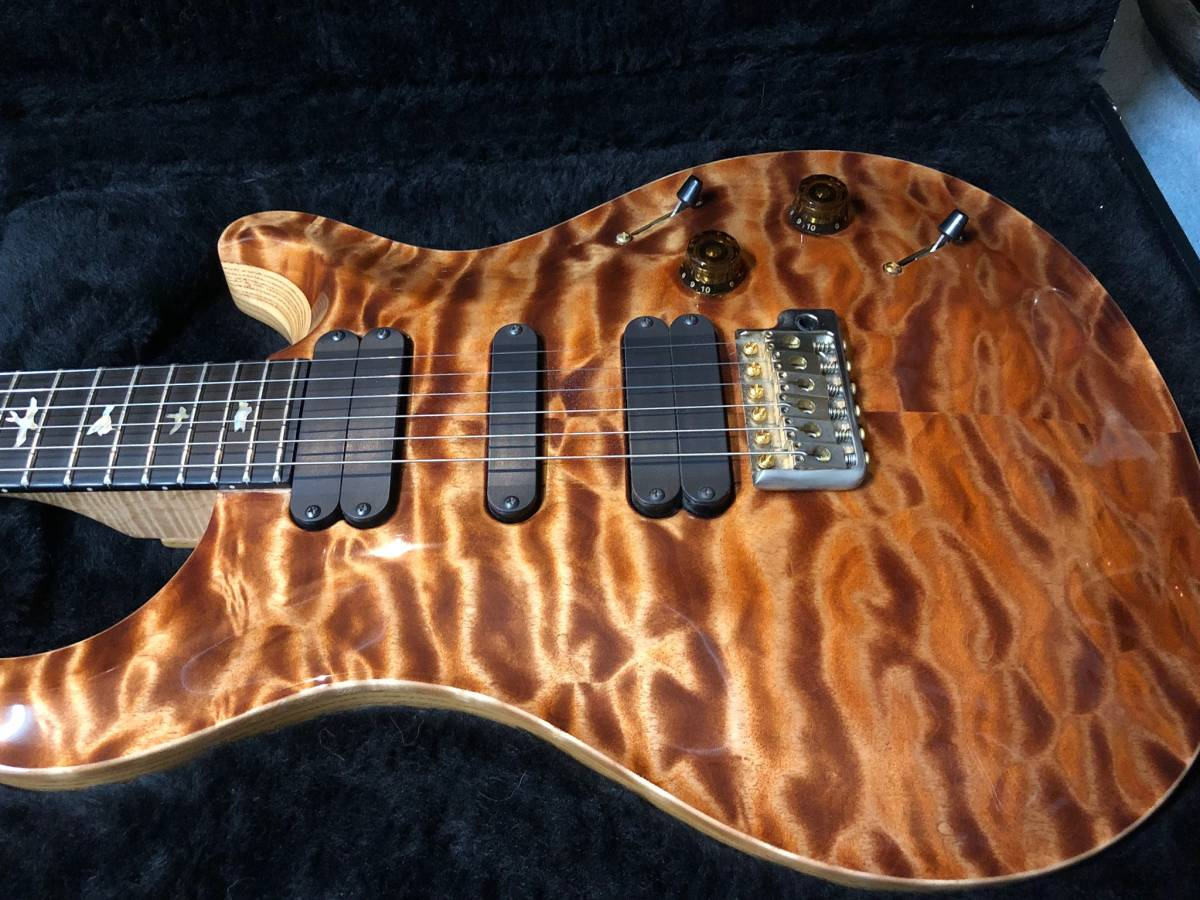 Paul Reed Smith (PRS) Wood Library Japan Limited 513 PS Grade Ebony Fingerboard copperhead_画像2