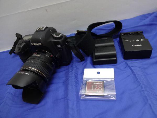 099【中古】Canon キヤノン EOS 5D Mark II Mark 2 EF 28-105mm 1:3.5-4.5 Ⅱ バッテリー3個付き 3026