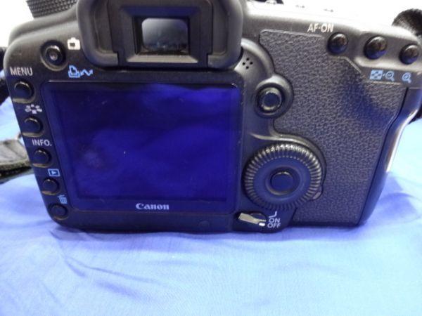 099【中古】Canon キヤノン EOS 5D Mark II Mark 2 EF 28-105mm 1:3.5-4.5 Ⅱ バッテリー3個付き 3026_画像5