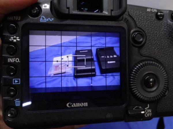 099【中古】Canon キヤノン EOS 5D Mark II Mark 2 EF 28-105mm 1:3.5-4.5 Ⅱ バッテリー3個付き 3026_画像8