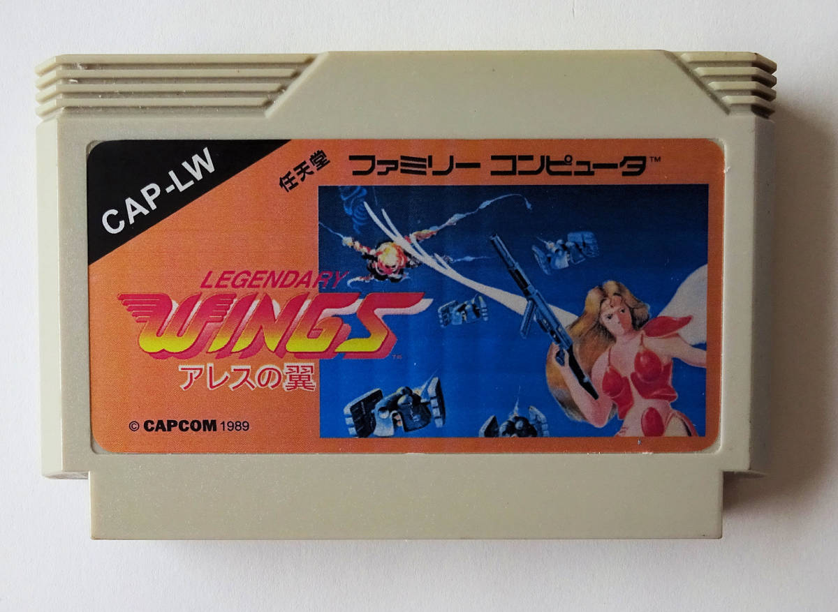 ファミコン ★ FC LEGENDARY WINGS アレスの翼 ★ 海外版 ファミコン ROM 用ソフト