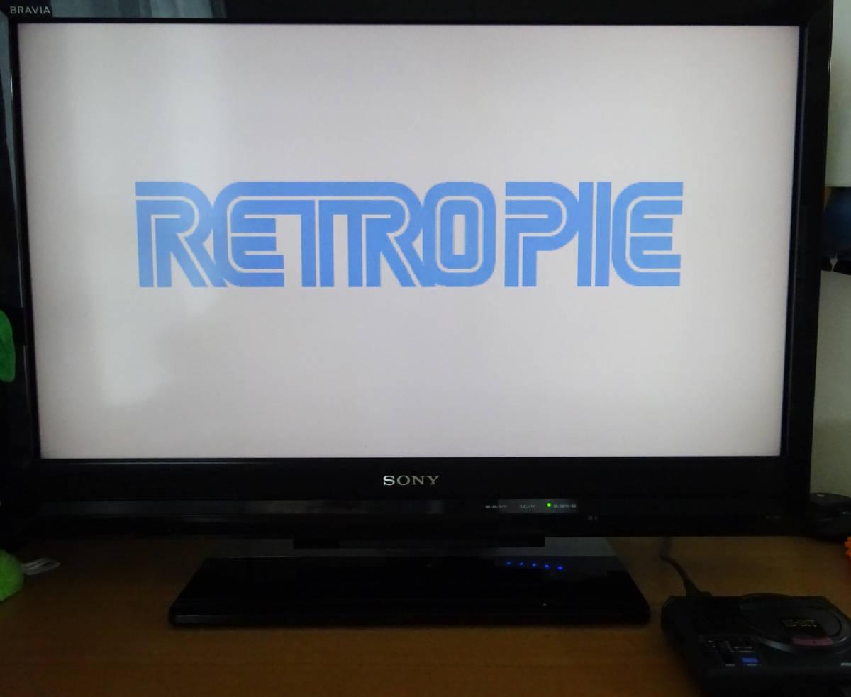 [新品] SEGA RETROPIE メガドライブミニ エミュレータ 本体 + コントローラ + ACアダプター + ビデオケーブル _画像4