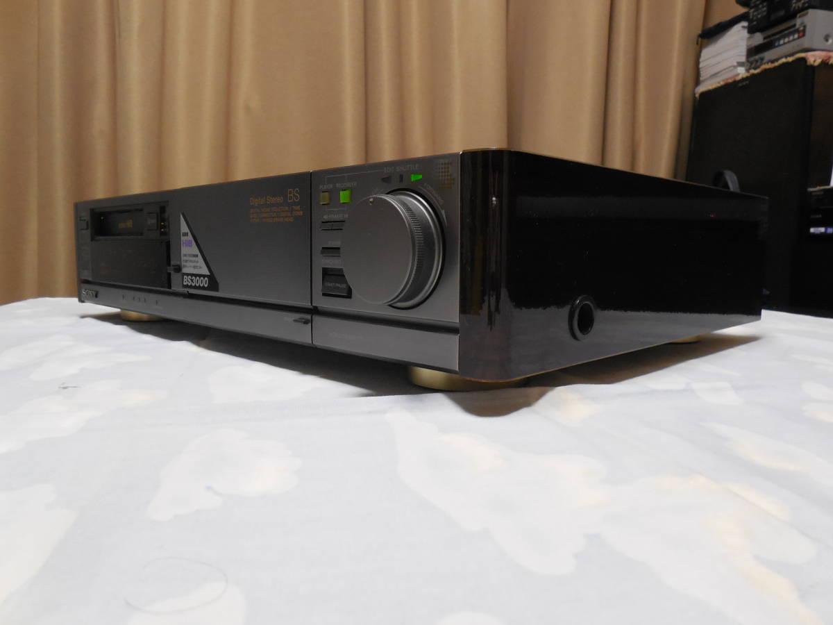 SONY ソニー Hi8 8mmビデオデッキ EV-BS3000 中古ジャンク品です。_画像7