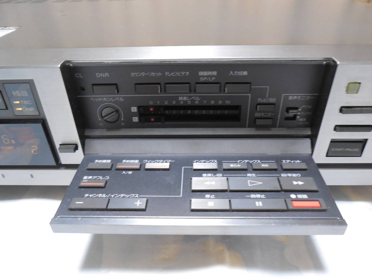 SONY ソニー Hi8 8mmビデオデッキ EV-BS3000 中古ジャンク品です。_画像4